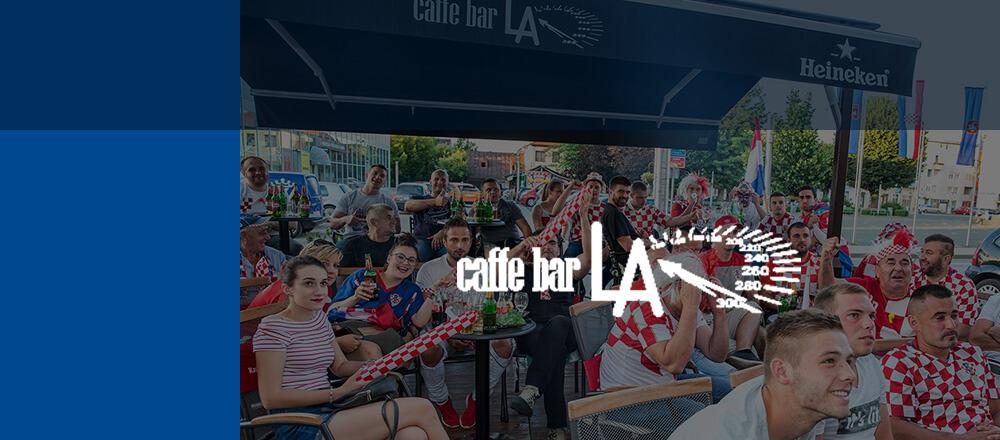 Astech - Caffe bar LA, Gospić