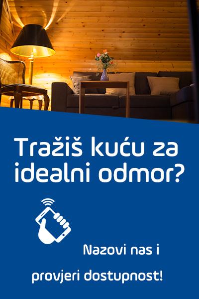 Rezervacija kuće za odmor u Gospiću i Ličkom Novom